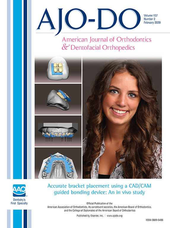American Journal of Orthodontics and Dentfacial Orthopedics