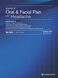 Journal of Oral and Facial Pain