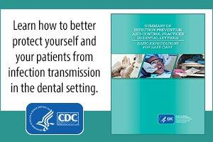Learn how to better protect yourselves from Infection transmission in the dental setting